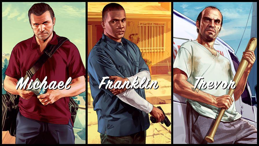 GTA 5 personaggi
