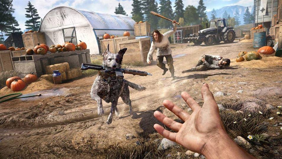 Far Cry 5 protagonista delle classifiche italiane (week 13, 2018
