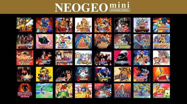new arrival 216a1 7cb8e E3 2018, le line-up dei giochi Neo Geo Mini - cellicomsoft